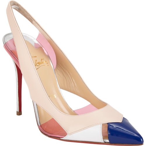 Christian louboutin air chance slingback pumps at barneys.com