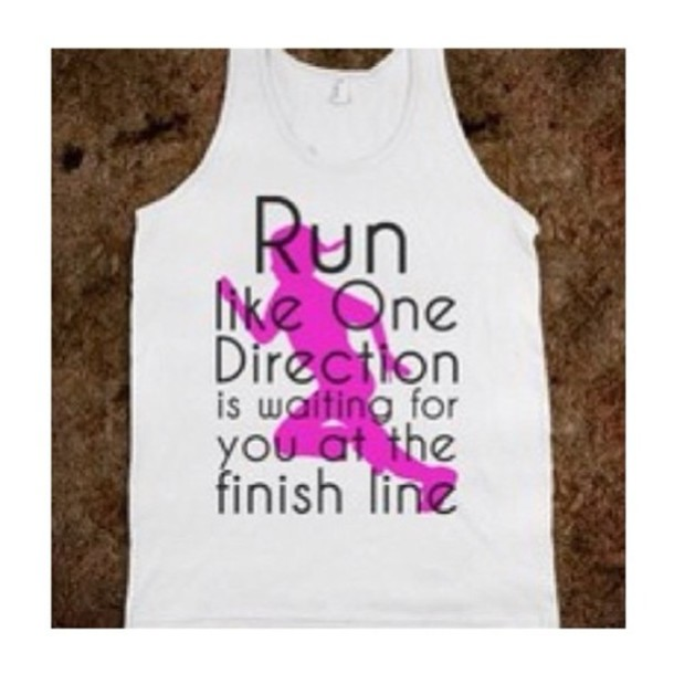 shirt one direction t-shirt tank top workout