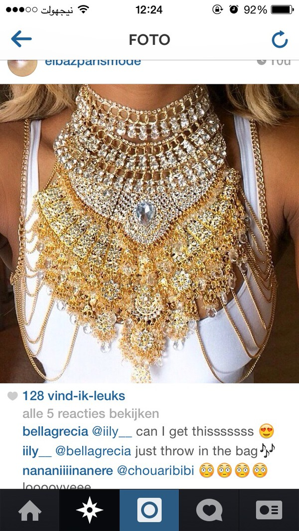 jewels necklace turtleneck gold diamonds statement necklace statement