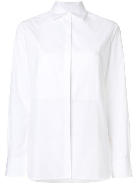 Racil - tux shirt - women - Cotton - 34, White, Cotton
