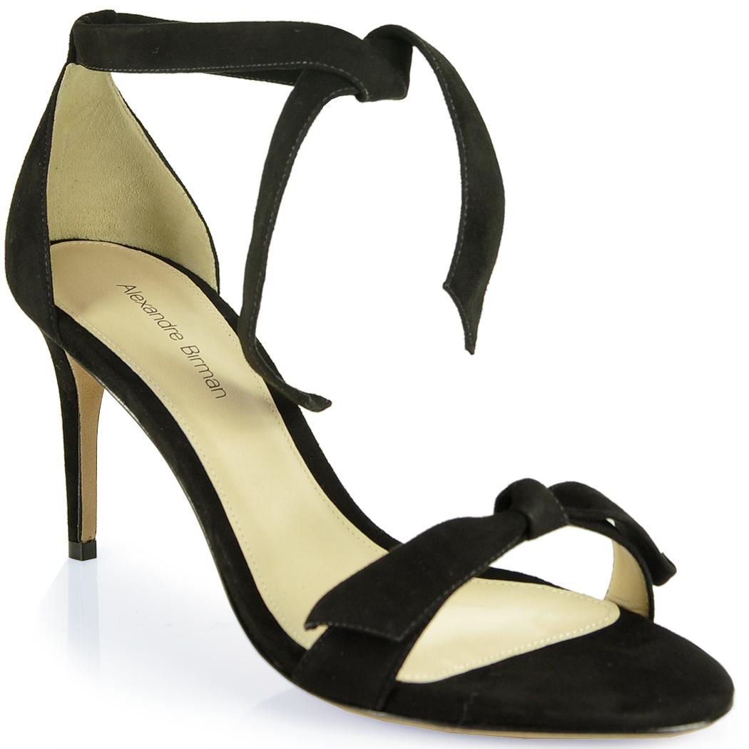 Tie sandal at footnotesonline women's designer shoes