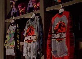 sweater jurassic park dinosaur film