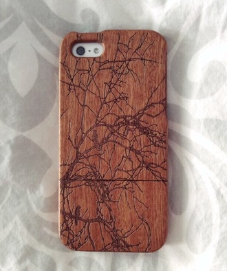 brown phone case trees branches iphone 5 case