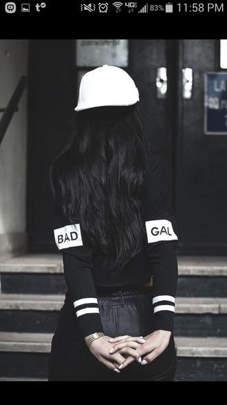 top long sleeve black