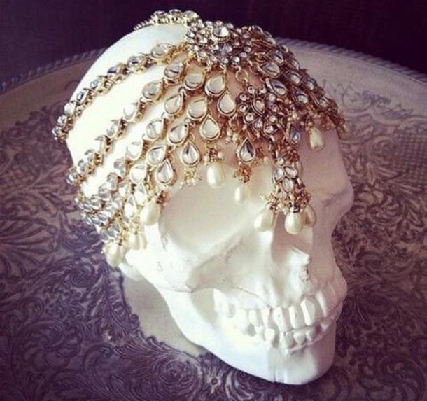 hair accessory head.