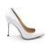 4 inch Heels - White Stilettos