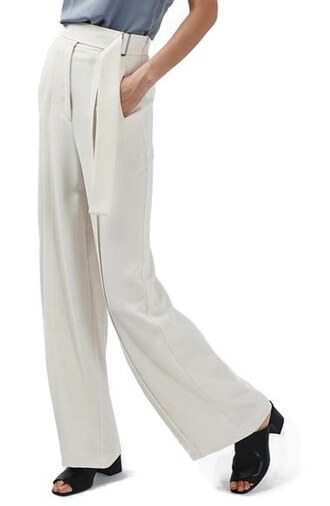 pants topshop clothes wide-leg pants