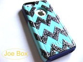 dress,otterbox,etsy,sales,iphone cover,iphone case,5c,iphone 5 case,glitter,bling,chevron,cute,light blue,phone cover,cover,iphone 5c