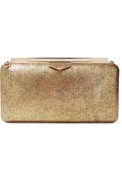 leather clutch,metallic,clutch,gold,leather,bag