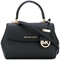Michael michael kors - small ava bag - women - calf leather - one size, black, calf leather