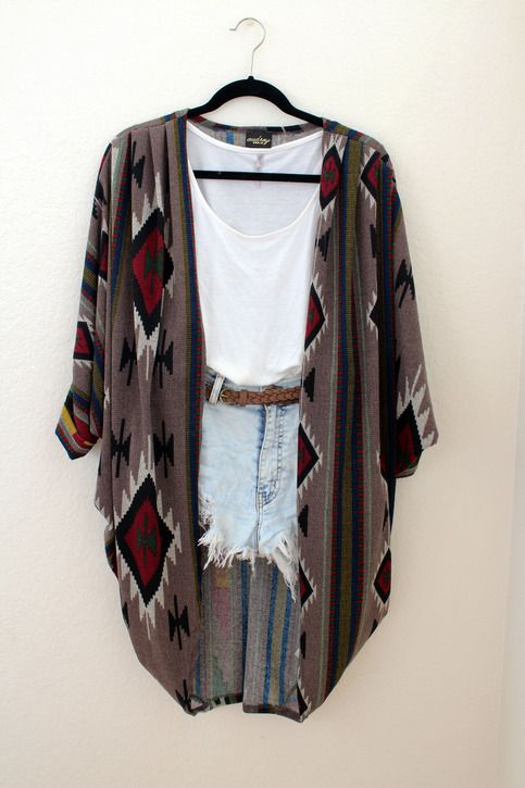 Aztec cardigan | Fashion Favorites