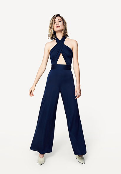 Black The Foley Jumpsuit Dress Fame Partners Usa