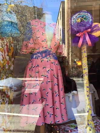 dress pink dress coral dress deep v neck dress bell sleeves