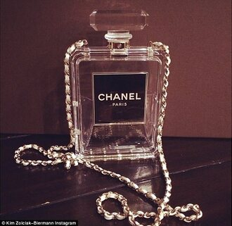 bag channel desighnerbag chanelbottle clearpurse clear heel