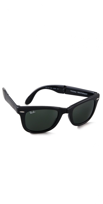 Ray-Ban Folding Wayfarer Sunglasses | SHOPBOP
