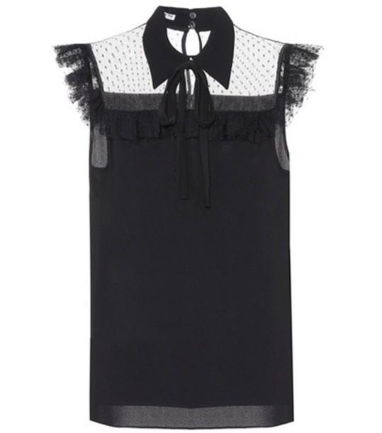 Miu Miu top black
