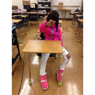 coat neon boots pink boots shoes