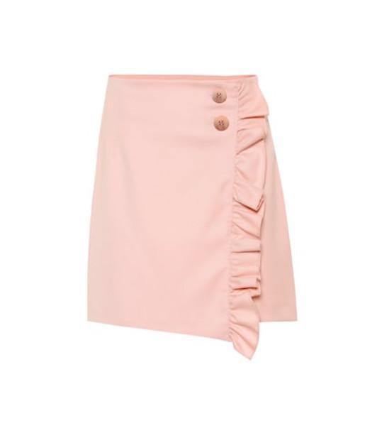 Baum und Pferdgarten Sangita ruffled miniskirt in pink