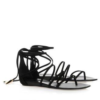 shoes sandals flats giuseppe zanotti streetstyle