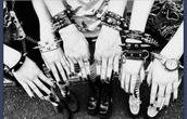 jewels,punk-studs,ring,punk rock,punky,punk bracelet,gold,goth,gothic lolita,spikes,punk,emo,metal,black,bracelets,monochrome,spiked bracelet