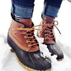 Bean boots on pinterest