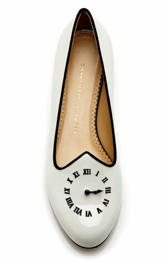 clock shoes time tan loafers