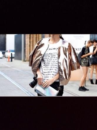jacket golden