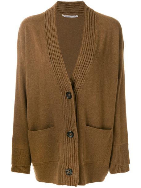 Agnona cardigan cardigan women brown sweater
