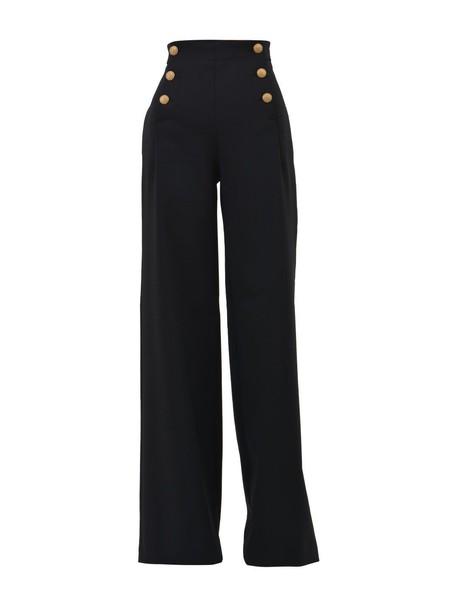 Alberta Ferretti pants black