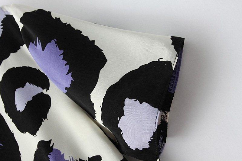 Irregular Leopard Print Pencil Dress [DLN1078] - PersunMall.com