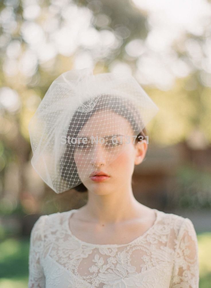 Aliexpress.com : buy beautiful new 2014 ivory tulle birdcage veils bridal fascinators wedding blusher veil wedding accessories free shipping from reliable wedding hair flower accessories suppliers on suzhou babyonline dress store