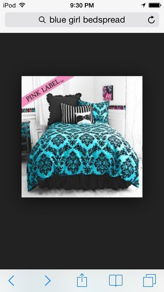 turquoise top comforter bed spread
