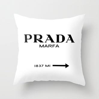 home accessory pillow prada