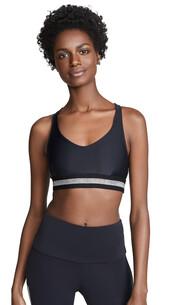 bra,sports bra,back,silver,black,underwear