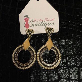 jewels aztec tribal print iamtrendii earrings aztec