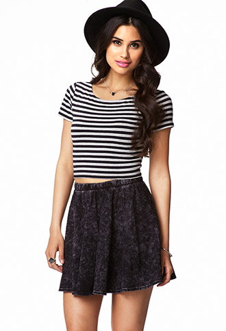 Striped Crop Top | FOREVER 21 - 2062952823