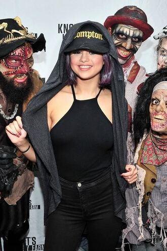 hat top selena gomez halloween costume halloween makeup