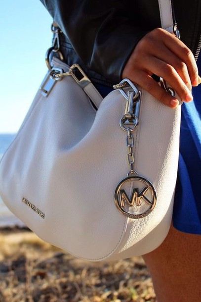 02edc4db9ba2 bag michael kors purse white with silver cross body michael kors