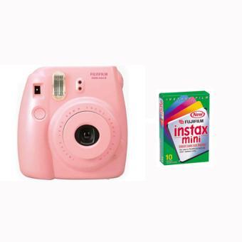 Fujifilm Instax Mini 8 Rose 1 Mini Pack 10 Poses Offert Appareil Photo