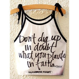 tank top summer quote on it black and white trendy fashion crop tops trendsgal.com