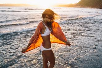 swimwear white bikini kimono beach summer holidays white swimwear cover up