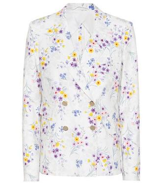 blazer white jacket