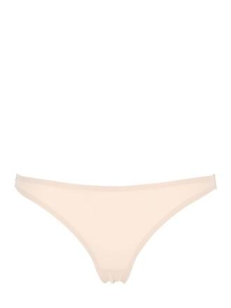 thong lace beige underwear