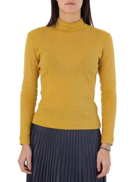 Golden goose turtleneck yellow sweater