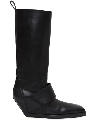 high knee high boots knee high boots leather black shoes