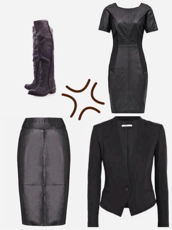 skirt jacket shoes dress boots