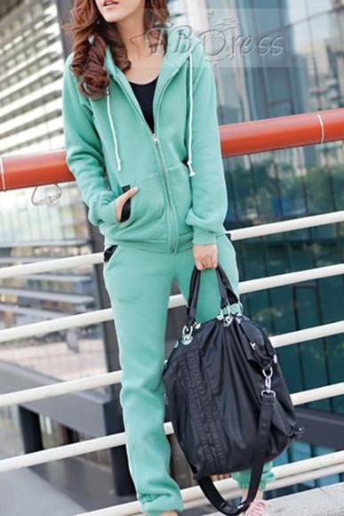 turquoise pajamas workout clothing gym clothing