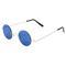 Leon small round mirrored sunglasses