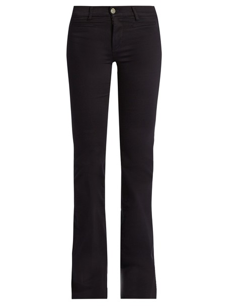 jeans flare jeans flare high dark