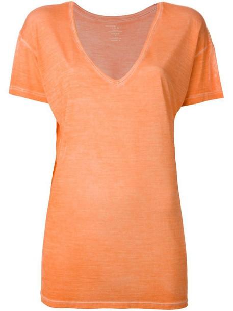 t-shirt shirt t-shirt yellow orange top